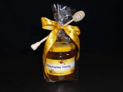 Geschenkset Nr. 4, mit Honig und Honiglöffel