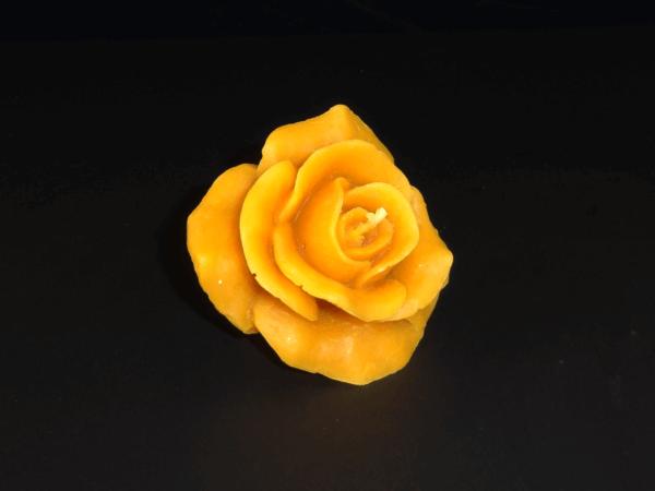 Bienenwachskerze Rose