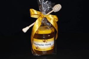 Geschenkset mit Honig und Honiglöffel