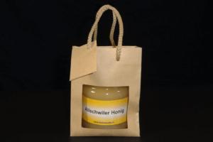 Minitragtasche mit 500gr Honig