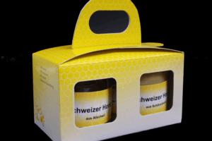 Honig Geschenkbox 2x 500gr Natur pur