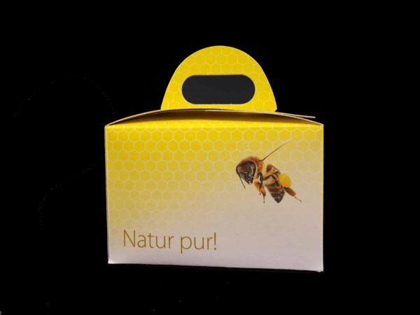 Geschenkbox Natur pur 2x250g Rückseite