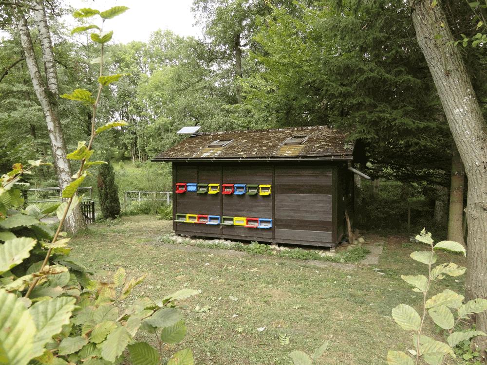 Bienenhaus für 16 Völker